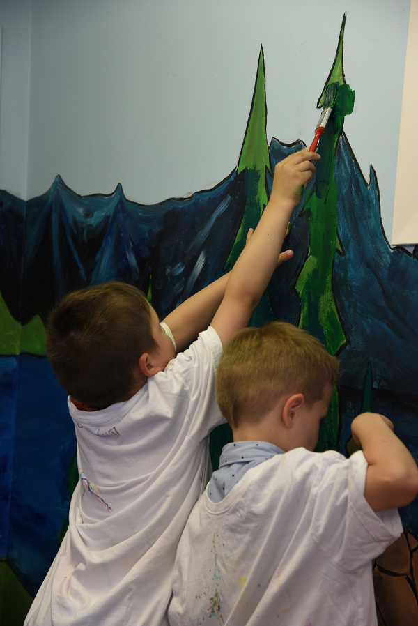 Sensory Room Final Touches